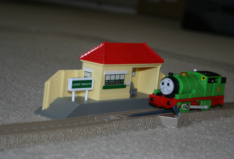 Percy at Lower Tidmouth.