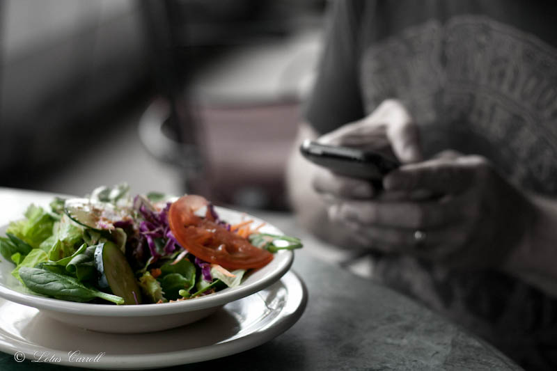 salad, iphone