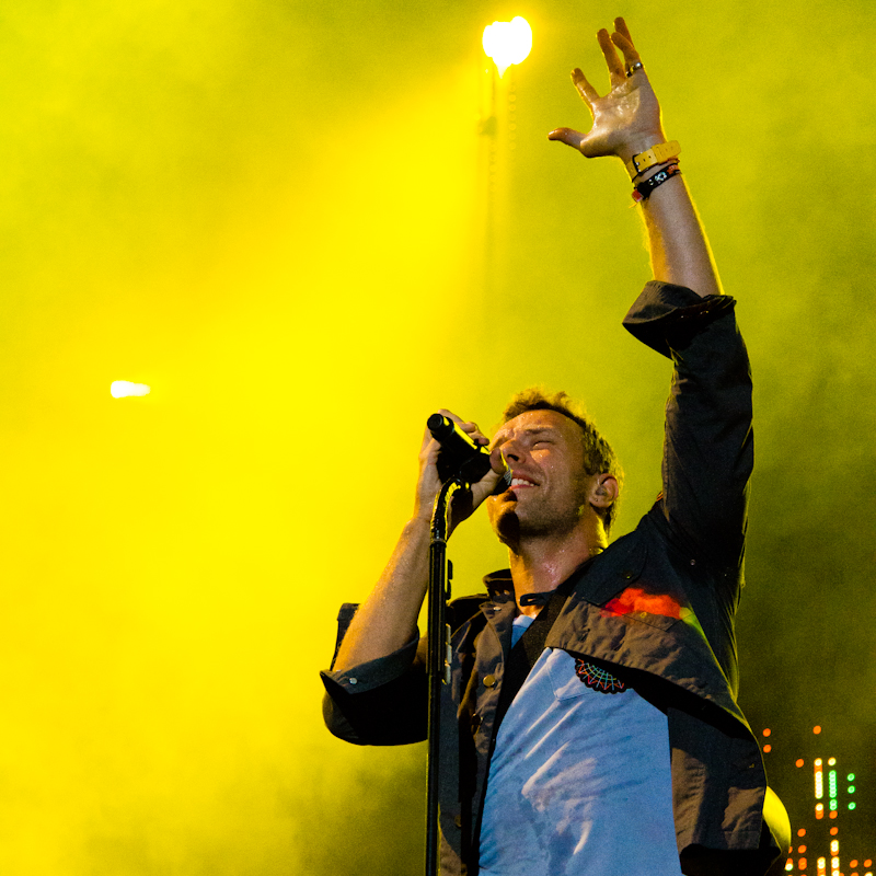 Coldplay - Chris Martin - Austin City Limits Music Festival 2011