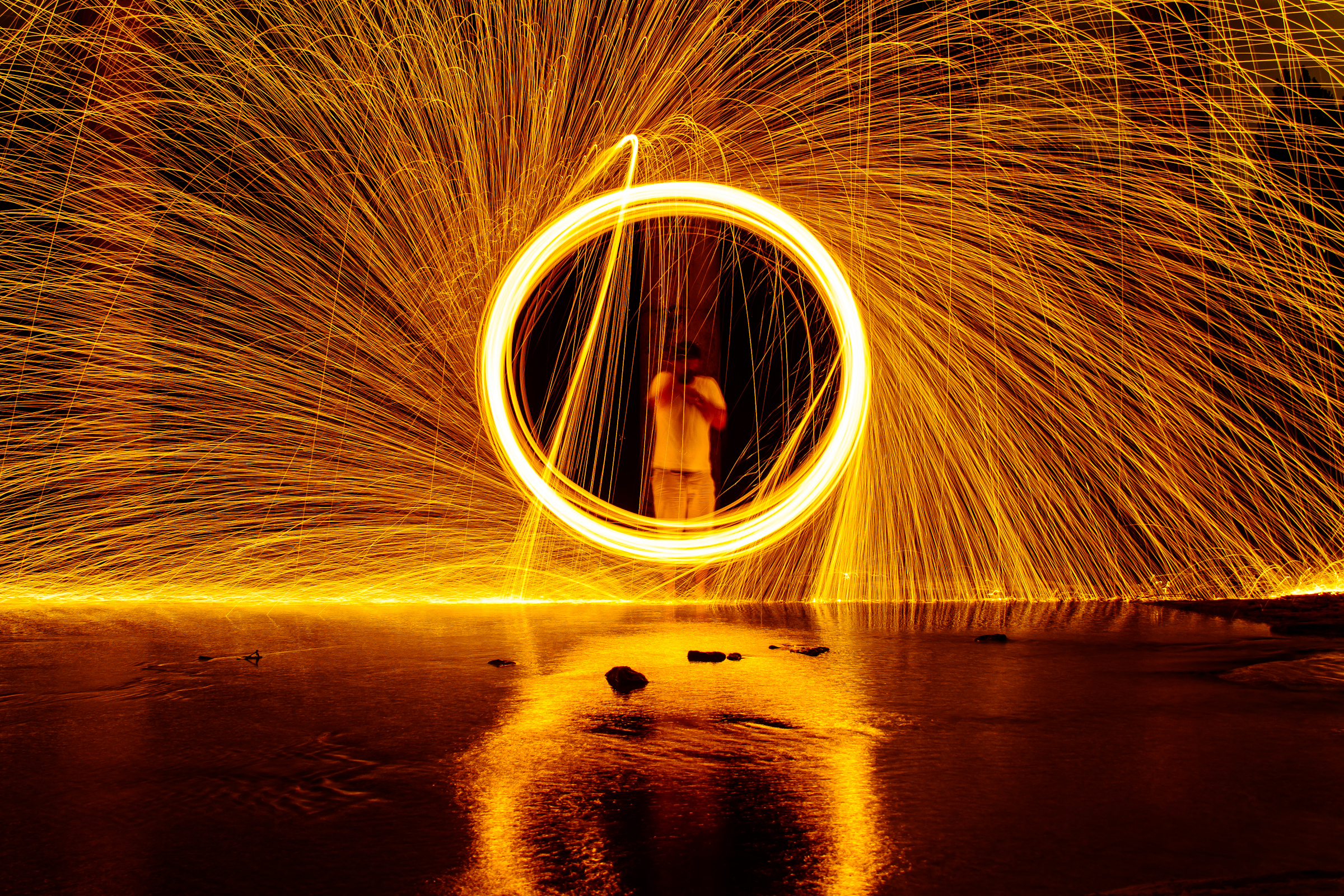 Steel Wool Photography: Ring of Fire