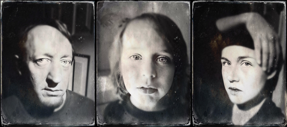 The Family That TinTypes Together….