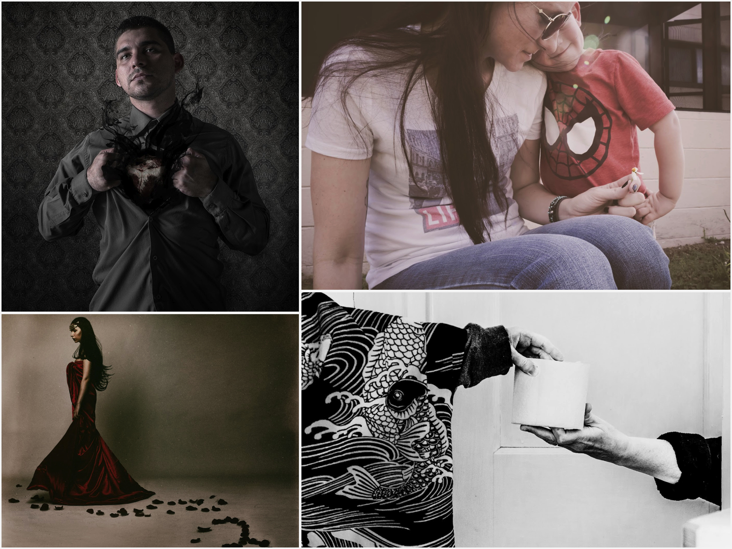 February Self Portrait Winners